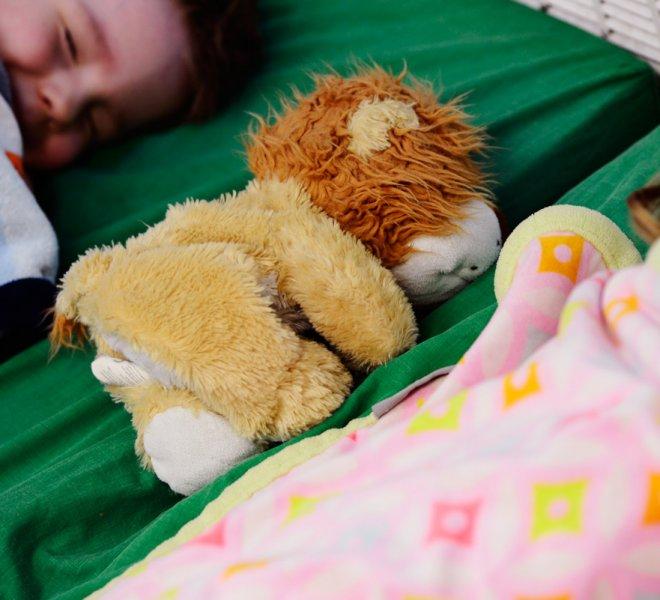 Enfants période de repos
