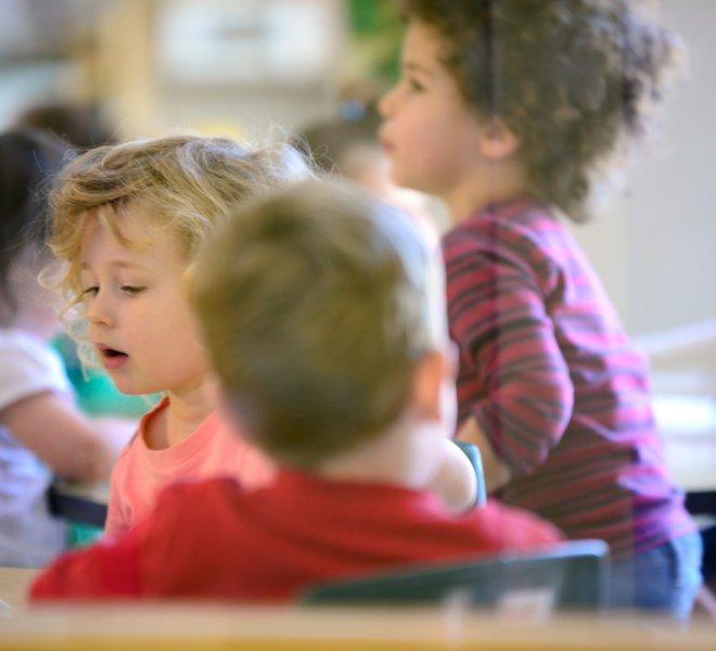 Enfants en groupe