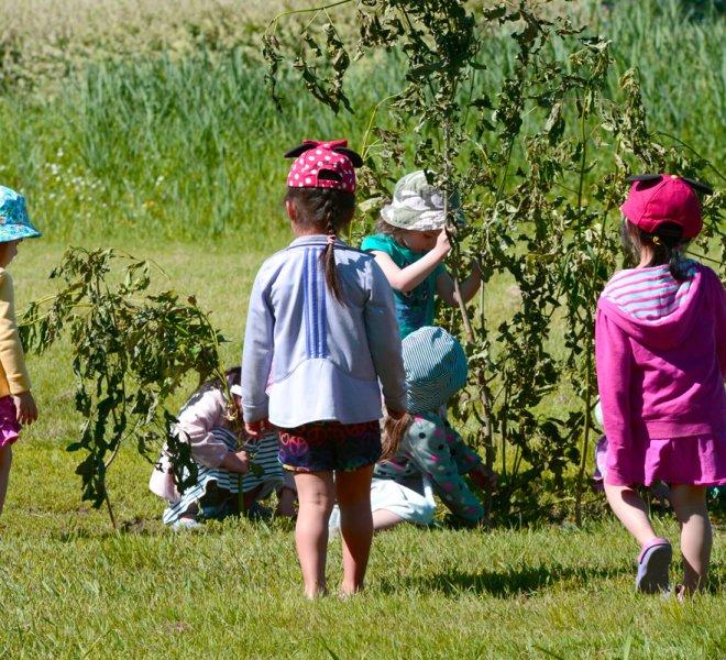 Enfants sortie extérieure